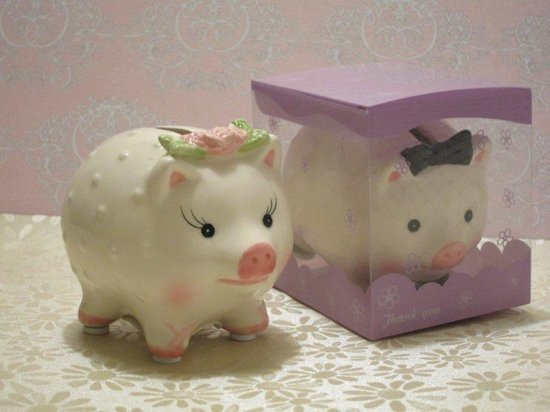 Bride Piggy Coin Bank