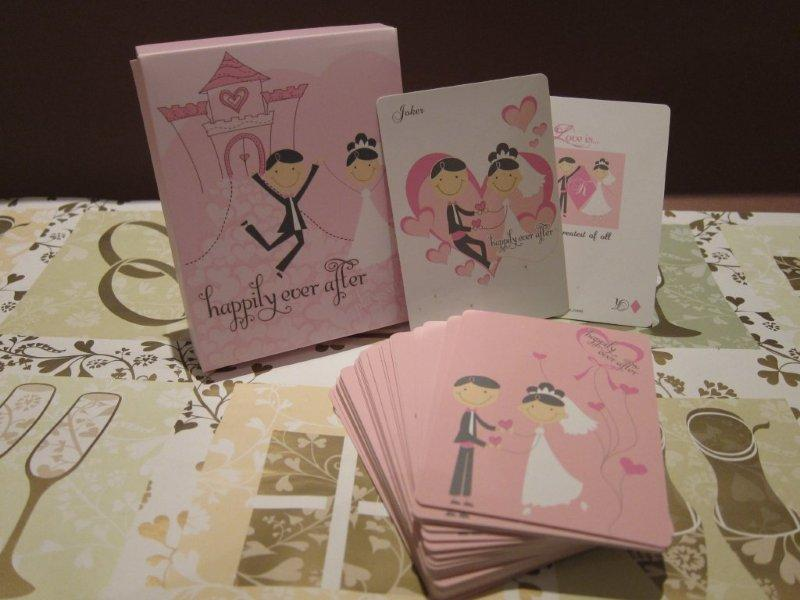 Fairytale Love Quote Playing Cards
