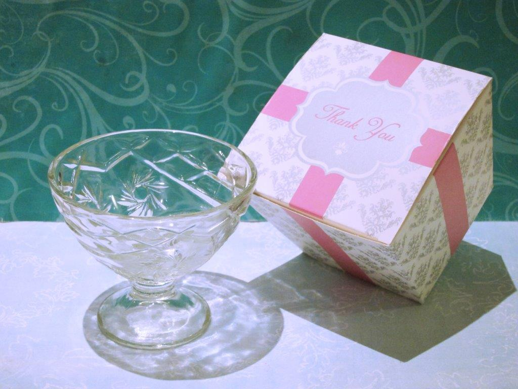Elegant Ice Cream Bowl