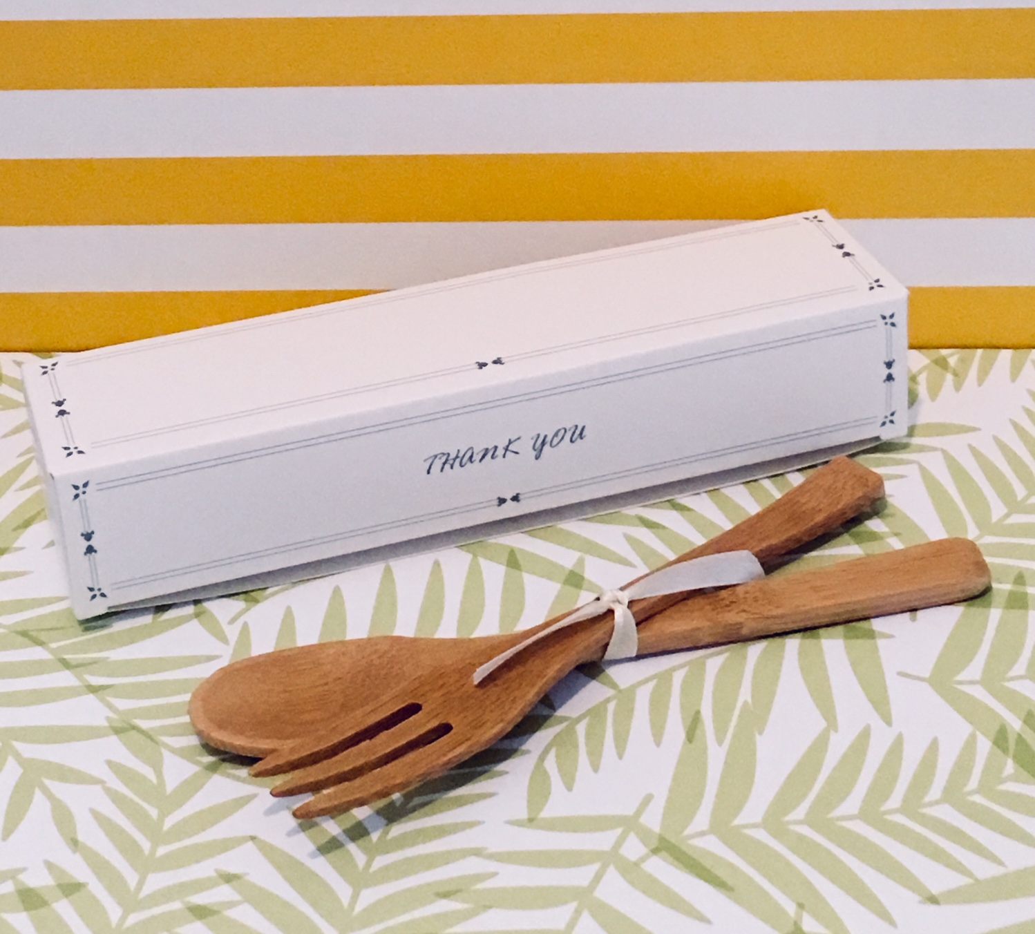 Bamboo Fork and Spoon