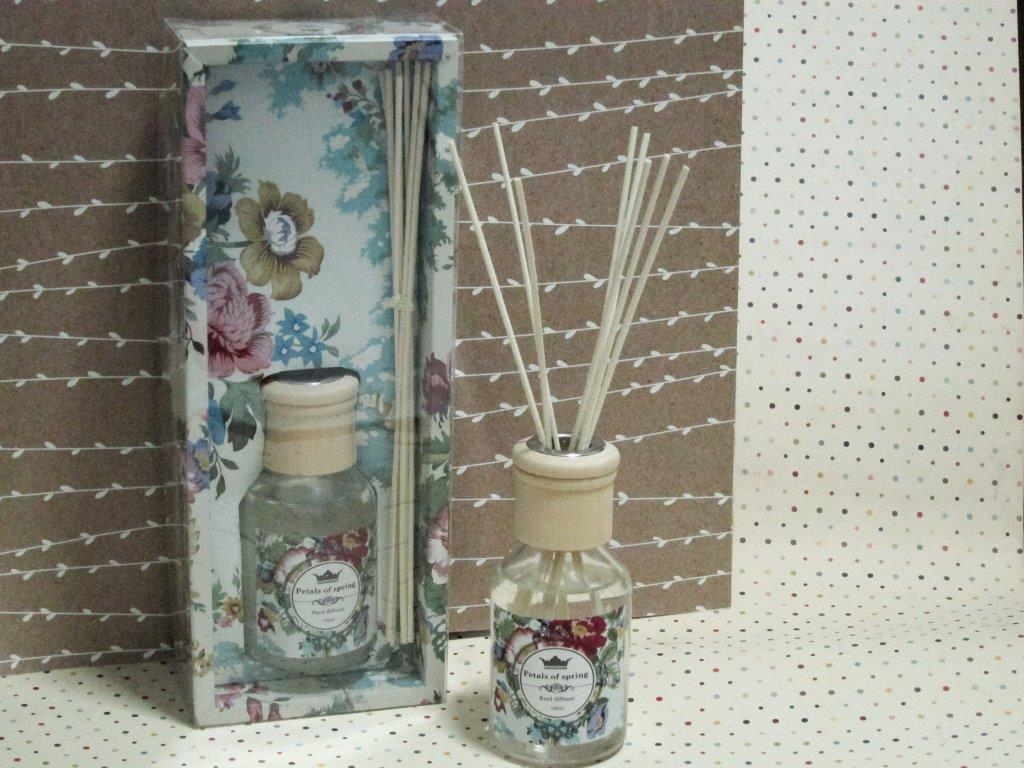 Petals of Spring Room Diffuser with Reeds
